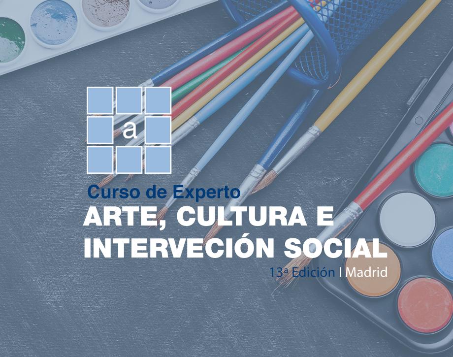 Curso de Experto Arte, Cultura e Intervención Social